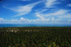 Praia do coco, ³ de MaceiÃ, Alagoas, Brasil imagem de stock royalty free