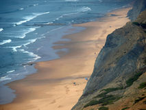 Praia do Cordoama near Vila Do Bispo, Algarve Royalty Free Stock Photo