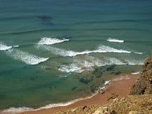 Praia do Cordoama near Vila Do Bispo, Algarve Royalty Free Stock Photography