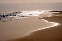 Praia do deserto Fotos de Stock Royalty Free