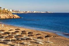 Praia do EL Duque em Costa Adeje em Tenerife Imagem de Stock