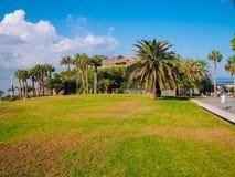 Praia do EL Duque em Costa Adeje Tenerife, Ilhas Canárias, Spain imagens de stock royalty free