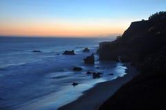 Praia do EL matador Foto de Stock Royalty Free