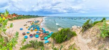 Praia do filho de Ganh na tarde ensolarada Imagens de Stock Royalty Free