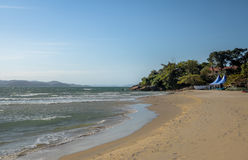 Praia do Forte Beach - Florianopolis, Santa Catarina, Brazil. Praia do Forte Beach in Florianopolis, Santa Catarina, Brazil stock images