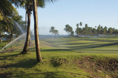 Praia do Forte golf course Stock Image