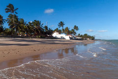 PRAIA DO FRANCES, BRAZIL. PRAIA DO FRANCES in a sunny day, BRAZIL stock image