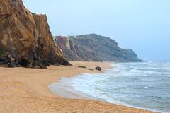 Praia do Guincho Santa Cruz, Portugal Royalty-vrije Stock Foto's