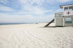 Praia do guindaste, Massachusetts, EUA Imagem de Stock