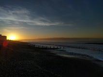 Praia do leste de Wittering Imagem de Stock