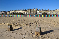 Praia do Lowestoft, Suffolk, Inglaterra Imagem de Stock