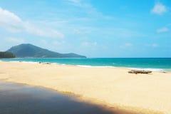 Praia do MAI Khao Foto de Stock Royalty Free