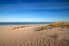 Praia do mar Báltico Imagem de Stock Royalty Free