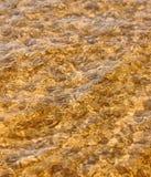 Praia do mar da onda na vista superior Fotografia de Stock