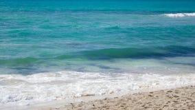Praia do mar das caraíbas Imagem de Stock