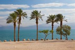 Praia do mar inoperante imagens de stock royalty free