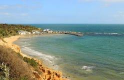 Praia do mar litoral Foto de Stock