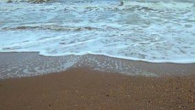 Praia do Mar Negro no tempo de inverno filme