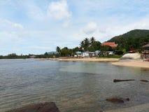 Praia do mar no samui do koh Fotos de Stock