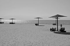 Praia do Mar Vermelho. Fotografia de Stock Royalty Free
