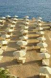 Praia do Mar Vermelho Fotos de Stock Royalty Free