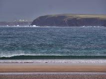 Praia do ¡ n de Beal BÃ, Dingle, Irlanda Foto de Stock