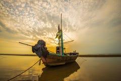 Praia do nascer do sol, Pranburi 3 Foto de Stock