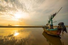 Praia do nascer do sol, Pranburi 2 Foto de Stock