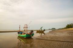 Praia do nascer do sol, Pranburi 4 Fotografia de Stock Royalty Free