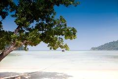 Praia do ngam do MAI Imagens de Stock Royalty Free