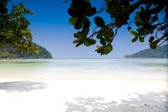 Praia do ngam do MAI no console de Surin Fotografia de Stock Royalty Free