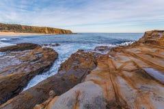 Praia do ninho de Eagles, Victoria, Austrália Fotografia de Stock