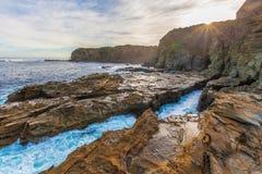 Praia do ninho de Eagles, Victoria, Austrália Fotografia de Stock Royalty Free