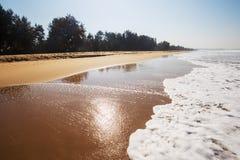 Praia do nirvana, Kumta fotos de stock