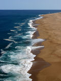 Praia do Norte Stock Photography