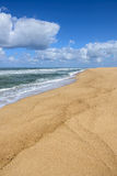 Praia do Norte, Nazare (Portugal) Royalty Free Stock Photography