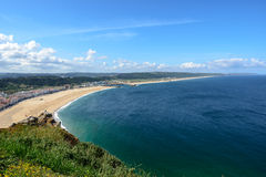 Praia do Norte, Nazare (Portugal) Stock Photo