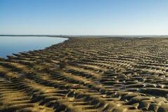 A praia do oceano Fotografia de Stock