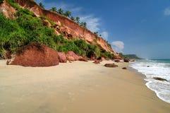 Praia do oceano Fotos de Stock Royalty Free