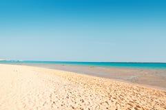 Praia do oceano Imagens de Stock Royalty Free