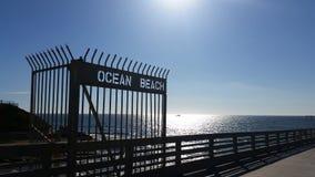 Praia do oceano Foto de Stock