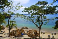 Praia do oceano Foto de Stock Royalty Free