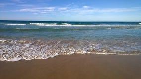 Praia do oceano Imagem de Stock
