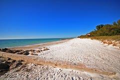 Praia do oceano de Florida Imagens de Stock