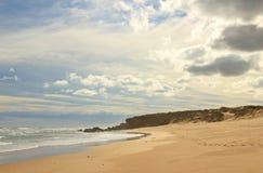 Praia do oceano de Gunnamatta Imagem de Stock Royalty Free