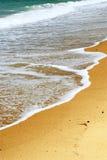 Praia do oceano de Sandy fotos de stock