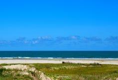 Praia do oceano do Golfo do México imagens de stock
