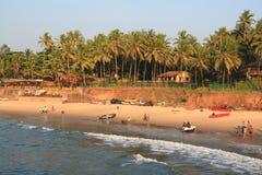 Praia do oceano em Ásia fotografia de stock royalty free