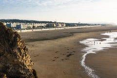 Praia do oceano em San Francisco foto de stock royalty free