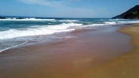 Praia do Oceano Pacífico, costa sul de NSW, Austrália filme